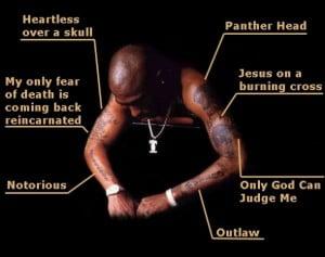 татуировки тупака